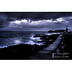 Spooky coast - Canvas print