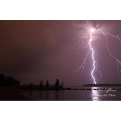 Thunder - Canvas print