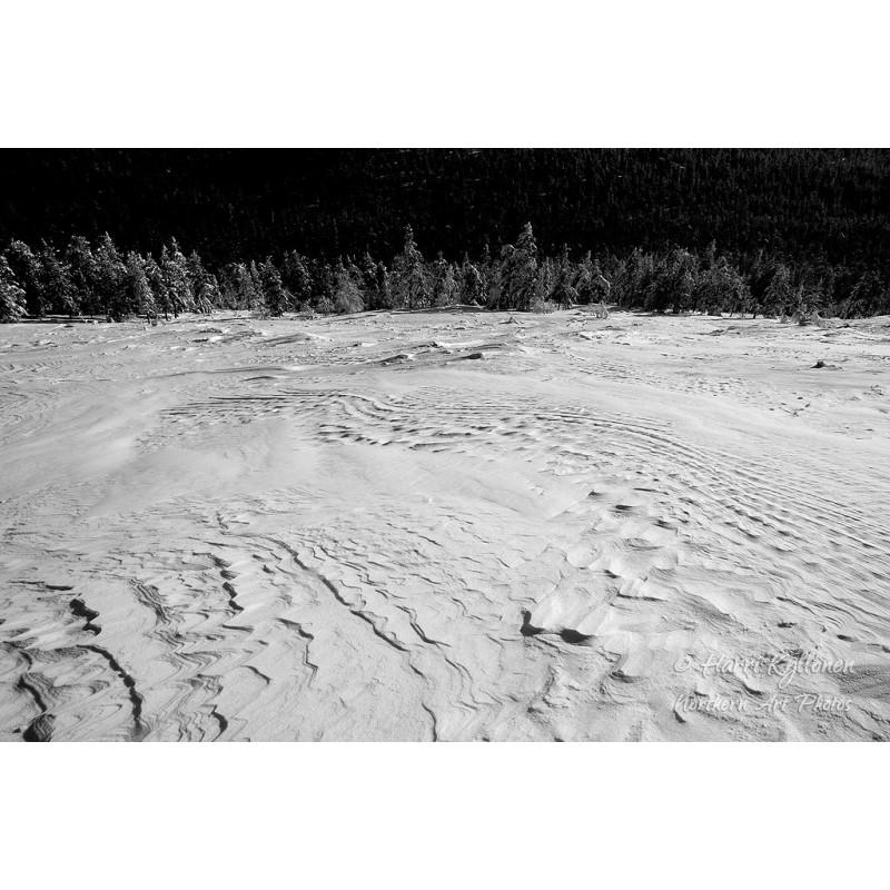 Lumen muodot - Canvas-taulu