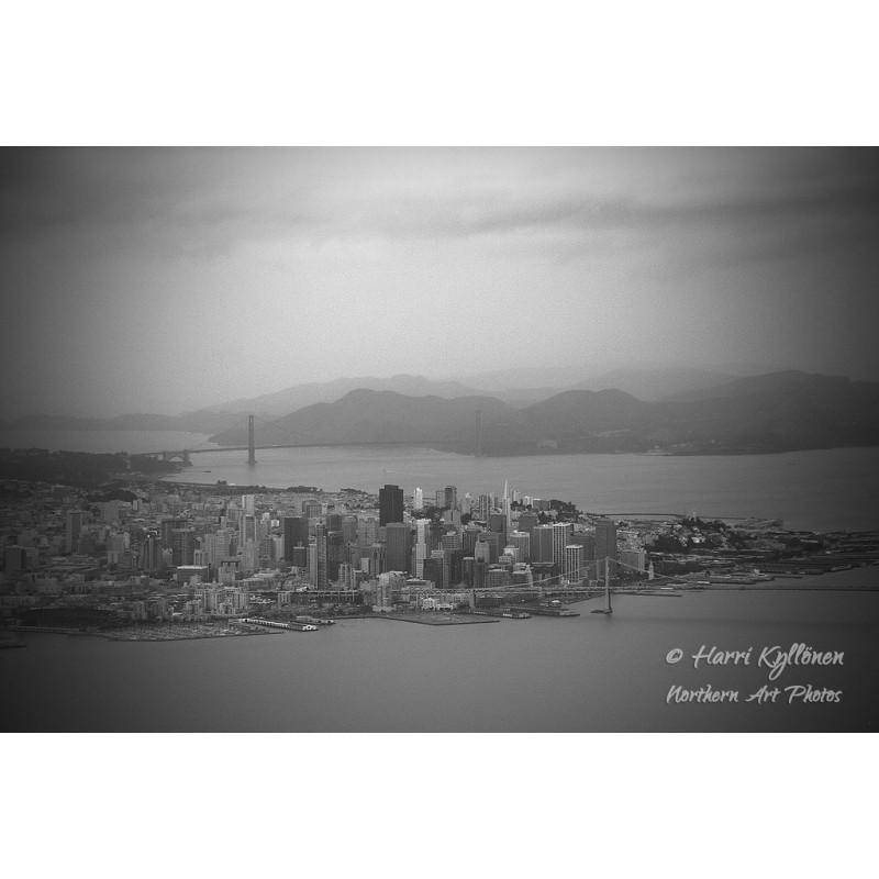 San Francisco - Canvas-taulu