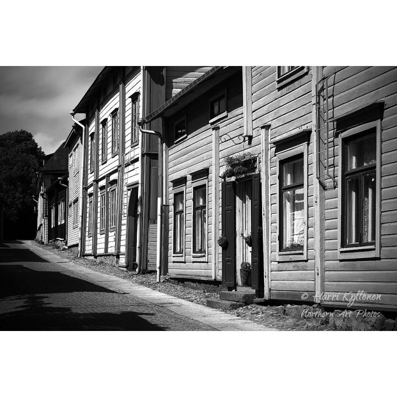 Porvoon vanha kaupunki - Canvas-taulu