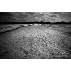 Fragile ice road - Canvas...