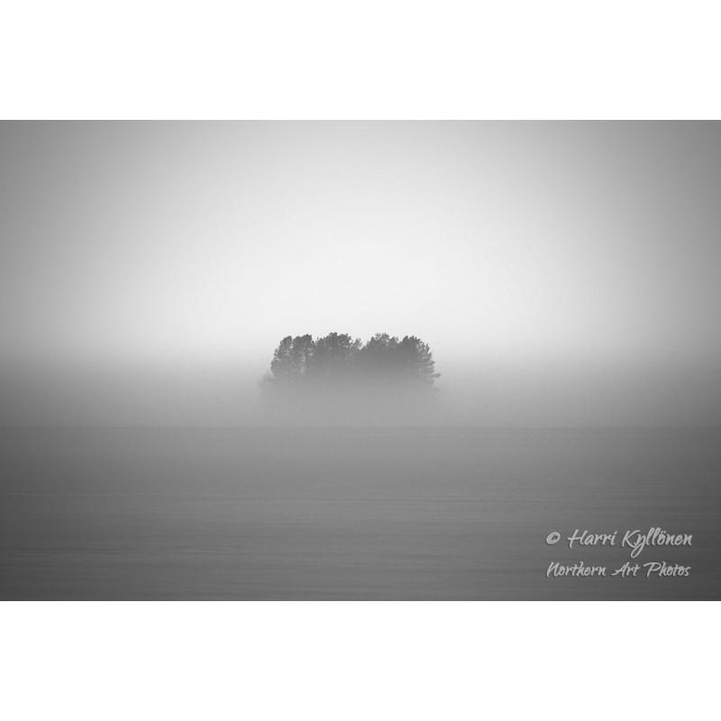 Kadonnut saari - Canvas-taulu