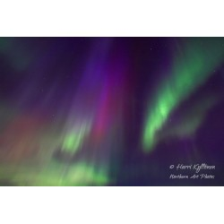 Aurora colours - Canvas print