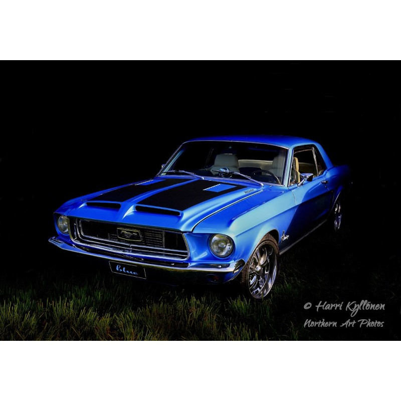 Ford Mustang -67 - Canvas-taulu