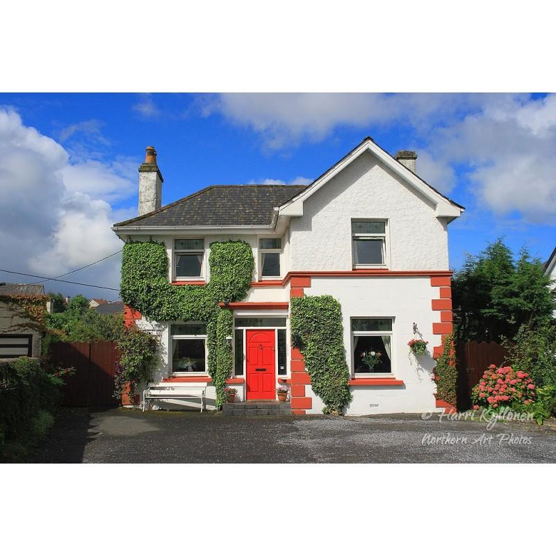 Irlantilainen talo - Canvas-taulu