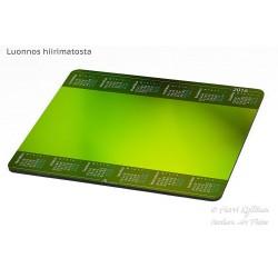 Vihreänsävyt - Hiirimatto / kalenteri