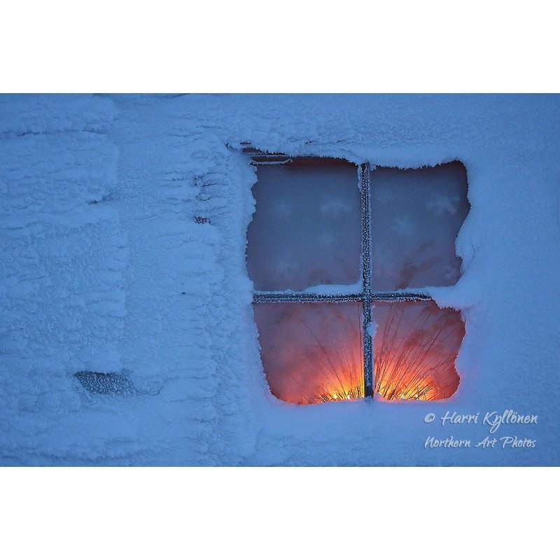 Lämpimämpi sisällä - Canvas-taulu