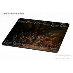 Hidden forest road - Mousepad / Calendar