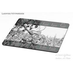 Lumiset oksat - Hiirimatto / kalenteri