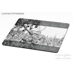Snowy branches - Mousepad /...