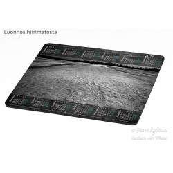 Fragile ice road - Mousepad / Calendar