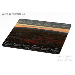 Javarustunturi ground colours - Mousepad / Calendar