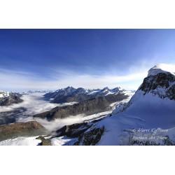 Alps ll - Canvas print