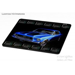 Ford Mustang -67 - Mousepad...