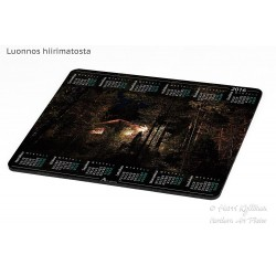 Hut lights - Mousepad /...
