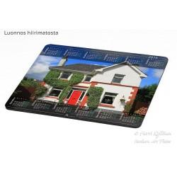 Irlantilainen talo - Hiirimatto / kalenteri