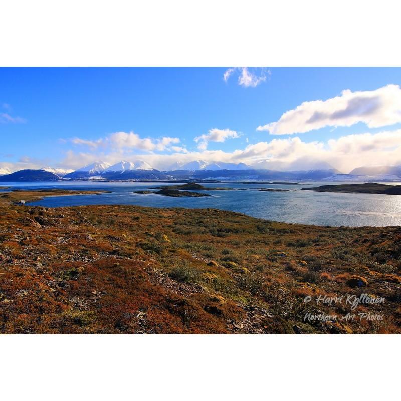 Ushuaia - Maailman loppu - Canvas-taulu