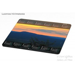 Luosto at night - Mousepad...