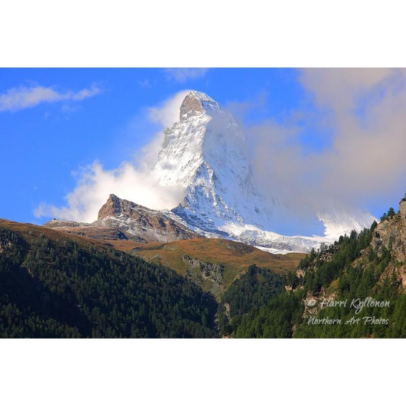 Matterhorn - Canvas-taulu