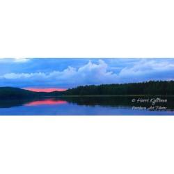 Hiljainen kesäilta - HD - Canvas-taulu