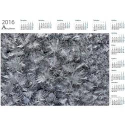 Snow flakes - Year Calendar