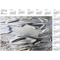Ice sculpture - Year Calendar