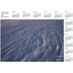 Snow texture - Year Calendar