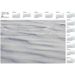 Winter surface - Year Calendar