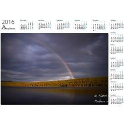 Rainbow at Mustajärvi III -...