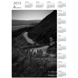 Irish road bw - Year Calendar