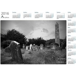 Old graveyard - Year Calendar
