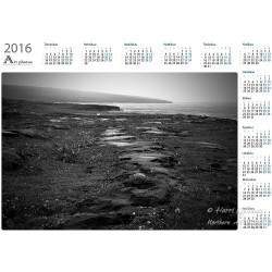 Wet coast II - Year Calendar