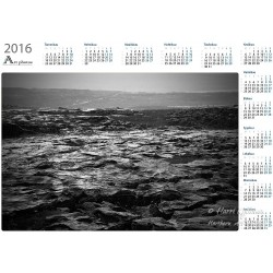 Wet coast - Year Calendar
