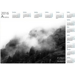 Mountain mist - Year Calendar