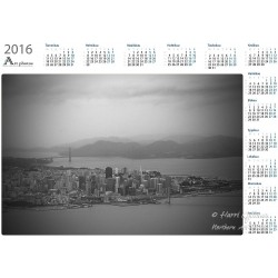 San Francisco - Year Calendar