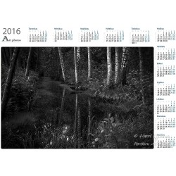 Quiet creek - Year Calendar