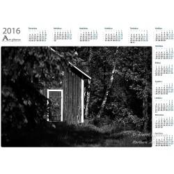 Old barn - Year Calendar