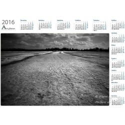 Fragile ice road - Year Calendar