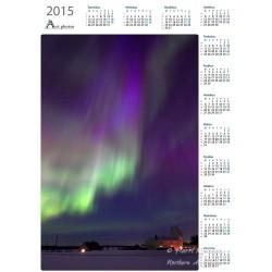 Vertical aurora stream II -...