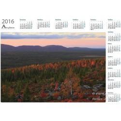Viimeinen syysvalo II - Vuosikalenteri