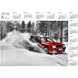 Rally Driving - Year Calendar