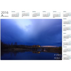 Night Rider - Year Calendar