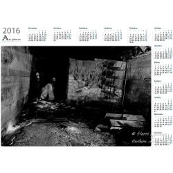 Yksin kellarissa - Vuosikalenteri