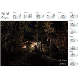 Hut lights - Year Calendar