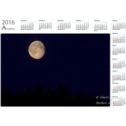 Superkuu - Vuosikalenteri