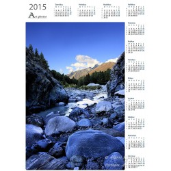 Mountain river - Year Calendar