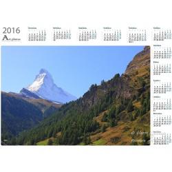 Matterhorn II - Year Calendar