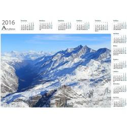 Fresh snow on Alps - Year...