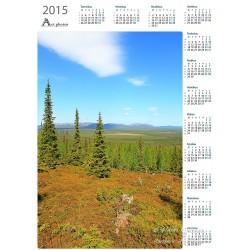 Three spruces - Year Calendar